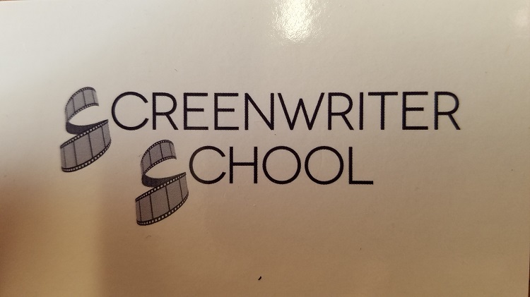 Captured By Edward Resendez. The logo for the Screenwriter School