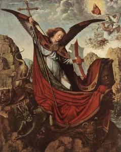 Altarpiece of St Michael-Gerard DAVID [Netherlandish Northern Renaissance Painter, ca.1460-1523]