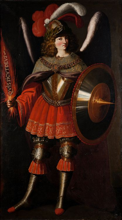 Francisco de Zurbarán and Studio - The Archangel Michael
