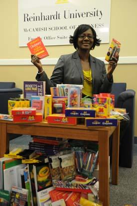 Dr. Joann Adeogun at Reinhardt University
