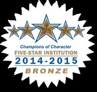 NAIA Bronze Champions of Character logo