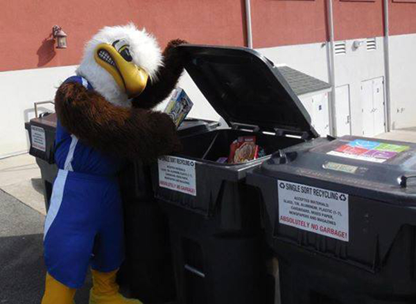 RecycleMania Eagle