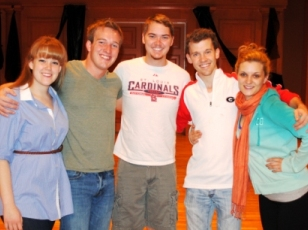 Reinhardt Theatre Students