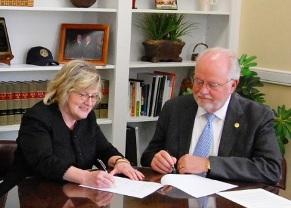 RU and GHC Confirm Articulation Agreement
