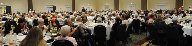 Dr. Mallard also had the opportunity to give the keynote address at the Laity Luncheon during Annual Conference. Approximately 775 church members from across North Georgia were in attendance.